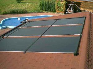 Akylux Solarkollektoren 3000 x 1200 mm Solar Schwimmbad