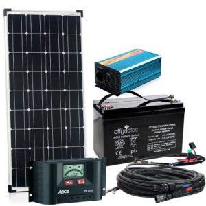Solaranlage Autark S-Master 100W Solar