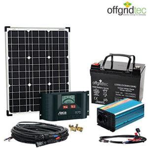 olaranlage Autark XS-Master 50W Solar