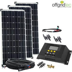 300 Watt Solaranlage
